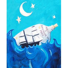 Nautical Magic is Something You Make Paper Print Art