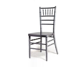 <strong>Advanced Seating</strong> Chiavari Chair in Silver with Optional Cushion