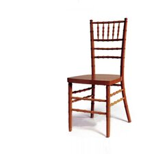 <strong>Advanced Seating</strong> Chiavari Chair in Fruitwood with Optional Cushion