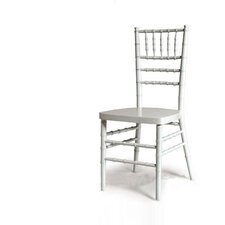 <strong>Advanced Seating</strong> Chiavari Chair in White with Optional Cushion