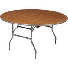 <strong>Advanced Seating</strong> Round Plywood Folding Table