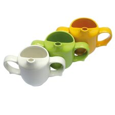<strong>Wade Ceramics</strong> Dignity Two Handled Feeder Cup in Yellow