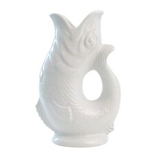 Gluggle Jug Large Jug in White