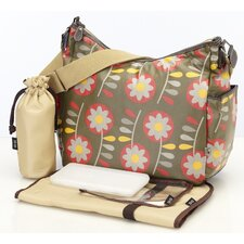 <strong>OiOi</strong> Retro Hobo Diaper Bag