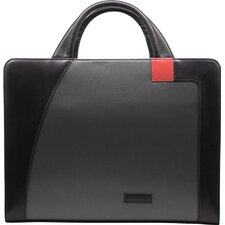 Microfiber Nylon Business Cases Double Zip Briefcase