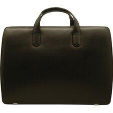 Sienna Leather Litigation Laptop Briefcase