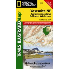 <strong>National Geographic Maps</strong> Trails Illustrated Map Yosemite NE, Tuolumne Meadows & Hoover Wilderness