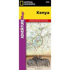 Kenya Adventure Map