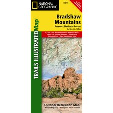 Trails Illustrated Map Bradshaw Mountains, Prescott National Forest