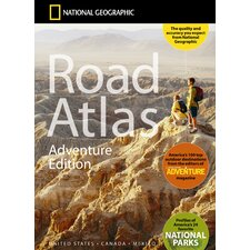 <strong>National Geographic Maps</strong> Road Atlas Adventure Edition