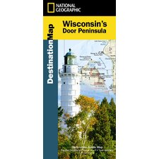 Wisconsin's Door Peninsula Map