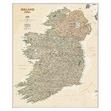 Ireland Executive Wall Map