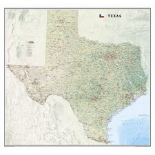 <strong>National Geographic Maps</strong> Texas State Wall Map