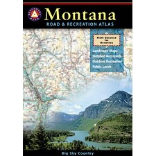 Benchmark Montana Road & Recreation Atlas, 1st Edition