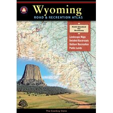Benchmark Wyoming Road & Recreation Atlas, 1st Edition