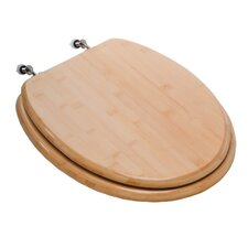 Premium Piano Wood Elongated Toilet Seat