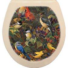 Signature Artist Series Round Toilet Seat