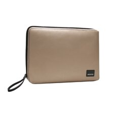 Classic Canvas Laptop Sleeve in Beige