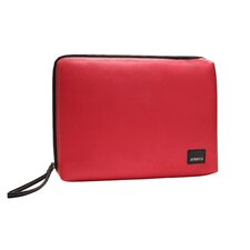 Classic Canvas Laptop Sleeve in Red