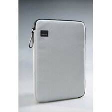 Cool White Perf Laptop Sleeve