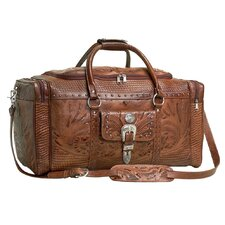 Retro Romance Rodeo Duffel Bag