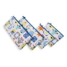 Monster Babies 4 Piece Bumper Set
