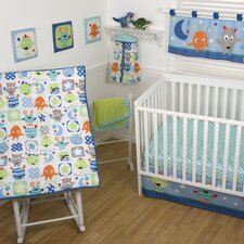Monster Babies Crib Bedding Collection