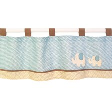 "Spotted Ellie 44"" Curtain Valance"