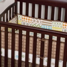 Doodles 4 Piece Crib Bumper Set