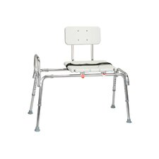 <strong>Eagle Health</strong> Snap N Save Sliding Transfer Bench with New Locking Mechanism