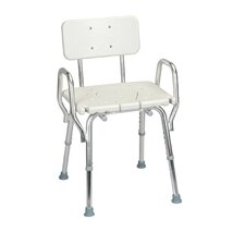 <strong>Eagle Health</strong> Shower Chair with Cut-Out Molded Seat and Arms
