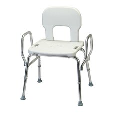 <strong>Eagle Health</strong> Heavy Duty Shower Chair with Back / Arms