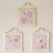 Love Hanging Art (Set of 3)