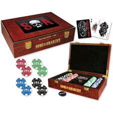 Sons of Anarchy Collectors Edition Poker Set