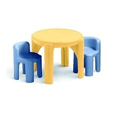 Kids 3 Piece Table & Chair Set II