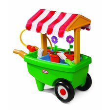 2-in-1 Garden Cart and Wheelbarrow