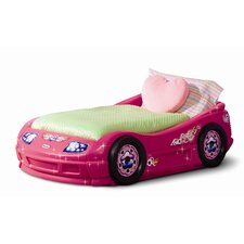 Princess Pink Toddler Roadster Bed