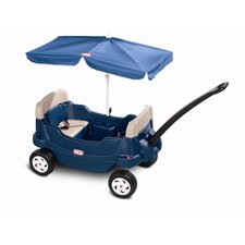 <strong>Little Tikes</strong> Cozy Crusin' Wagon Ride-On with Umbrella