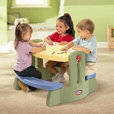 <strong>Little Tikes</strong> Adjust n Draw Kids' Activity Table and Chair Set