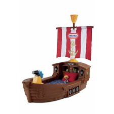 <strong>Little Tikes</strong> Pirate Ship Toddler Bed
