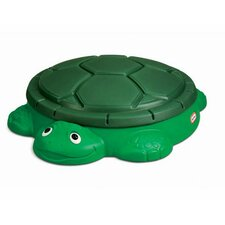Turtle 4' Round Sandbox with Cover