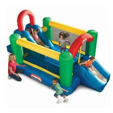 Jump and Double Slide Bounce House
