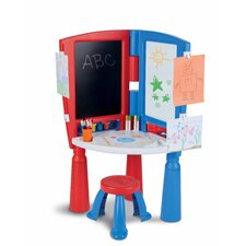 2-in-1 Art Desk and Easel