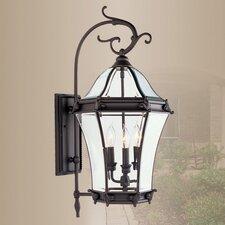Fleur De Lis Outdoor Wall Lantern