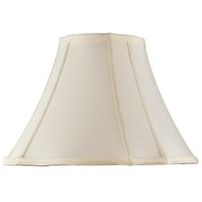 "16.5"" Scallop Silk Bell Lamp Shade"