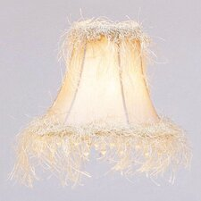 "6"" Bell Clip Silk Empire Lamp Shade"