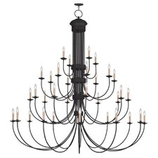 Heritage 34 Light Candle Chandelier