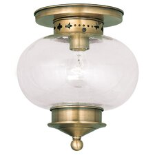Harbor 1 Light Semi Flush Mount