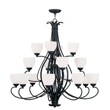 Brookside 16 Light Chandelier