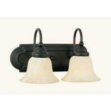 <strong>Livex Lighting</strong> Belmont 2 Light Vanity Light